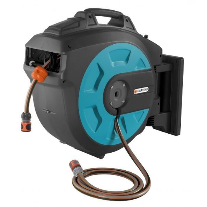 [Made in Germany] Gardena Comfort Wall-Mounted Hose Box 25m roll-up automatic