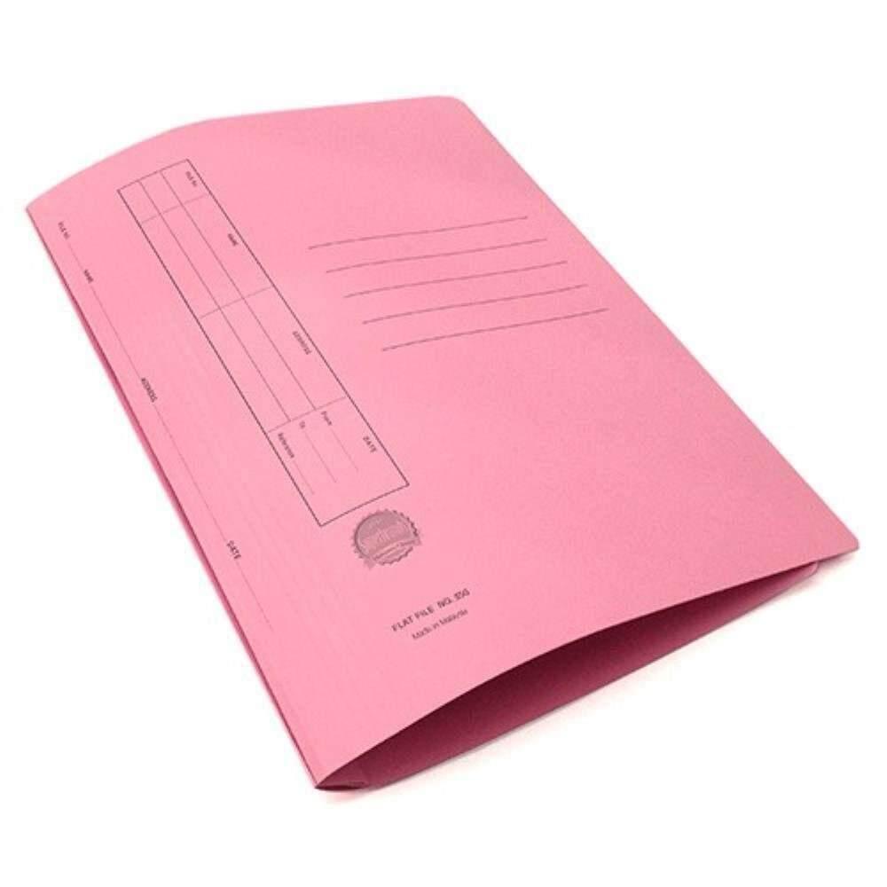 Manila Flat File U-Pin Spring Hook - No.350 Pink A1R1B108