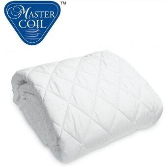 Mastercoil mattress protector for Super Single bed mattress - washable ant-dustmite anti-microbail