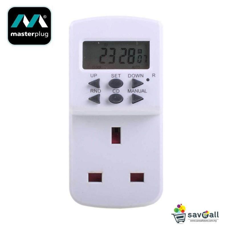 Buy MasterPlug 24 Hours Plug In Programme Electric Timer (TES7-MP) Malaysia