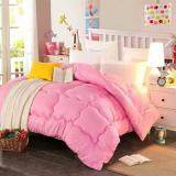 Maylee Colourful Soft Microfiber Duvet Queen (Pink)