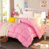 Maylee Colourful Soft Microfiber Duvet Single (Pink)