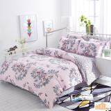 Maylee High Quality 4pcs Joyful Flower Queen Bedding Set (FM-JF)
