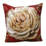 Maylee HIgh Quality Printed Brown Rose Pillow Cases