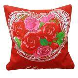 Maylee HIgh Quality Printed I Love U Roses Pillow Cases