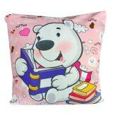 Maylee HIgh Quality Printed Smart Bear Pillow  Case