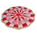 Maylee Korean Style Patchwork Carpet Red