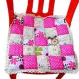 Maylee Patchwok Seat Mat (Pink)
