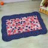Maylee Patchwork Cotton Floor Mat Small Flag 40*60