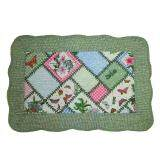 Maylee Patchwork Cotton Floor Mat Small Garden 40*60