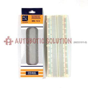 Harga MB-102 830 Point Solderless Breadboard for Arduino Projects