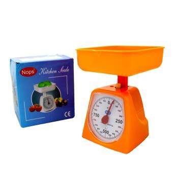 Harga Mechanical Kitchen Weighing Scale (1KG-S) (Up to 1KG)