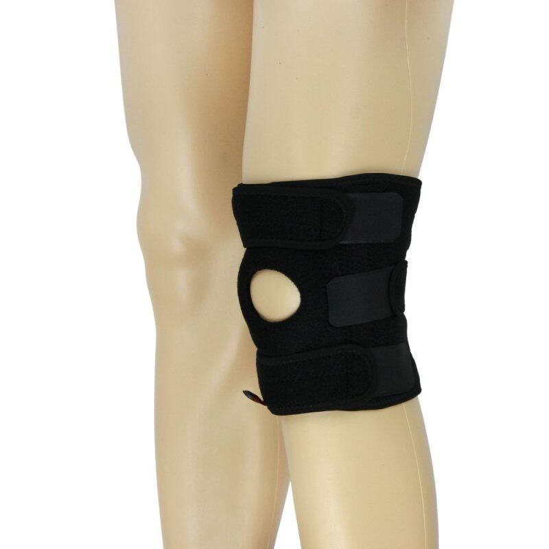 Buy Medical Grade Open Patella Knee Support Knee Stabilizer Sports Adjustable Compression Straps Joint Pain Supports 1PC Black and Red Malaysia