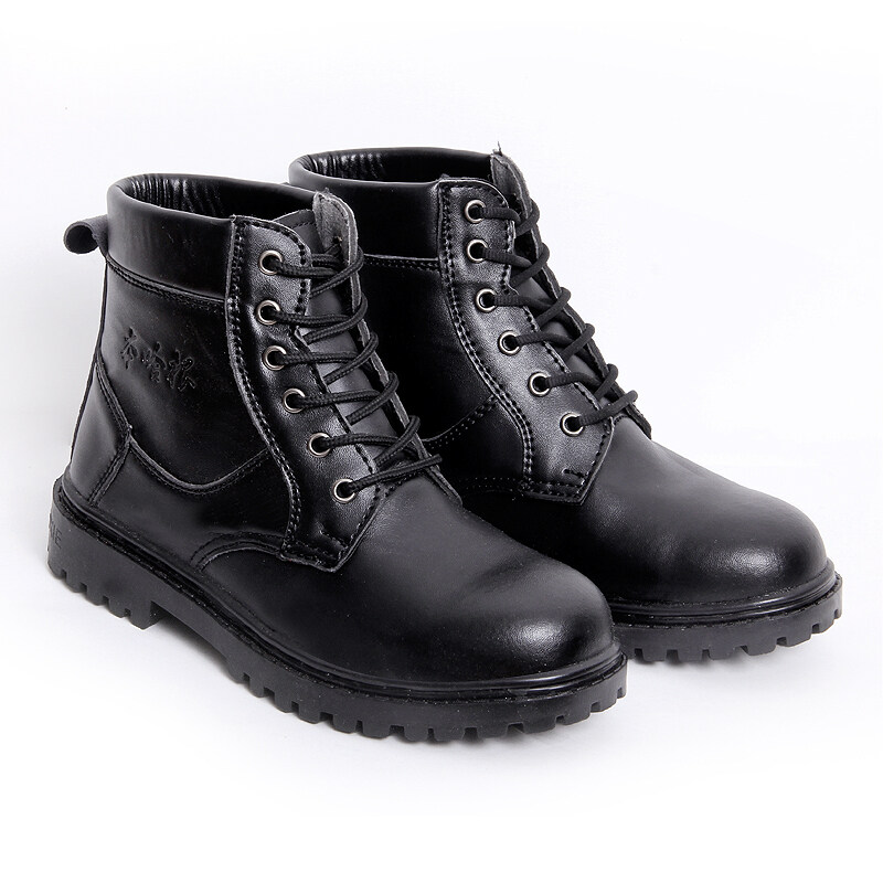 Buy Men steel head anti-smashing anti-wear stab safety shoes protective shoes Malaysia