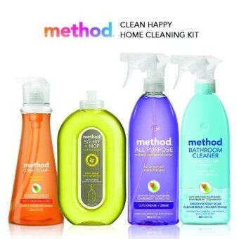 Harga method Clean Happy Home Cleaning Set