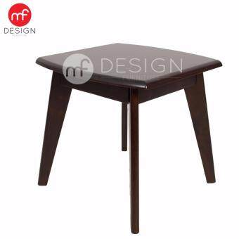 Harga MF DESIGN DAVID WOODEN BED SIDE TABLE COFFEE TABLE - CAPPUCCINO