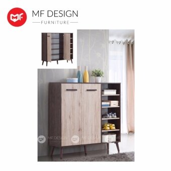 Harga MF DESIGN ERIKO SHOE CABINET 4FT / SHOE STORAGE