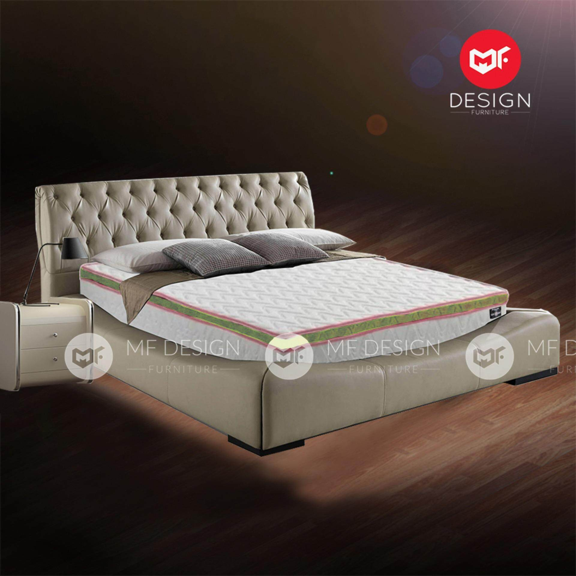 mf design vs series 2hotel spec high quality 10 inch queen size spring mattress lazada malaysia