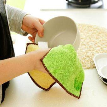 Harga Microfiber Dish Cloth Microfibra Kitchen Towel Microfiber Cloth3pcs/lot Hand Care Cleaning Mop Cooking Tools