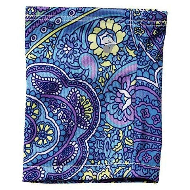 Mighty Well PICC Line Cover: Antimicrobial, Line Never Touches Skin, Size A Arlene, Paisley Blue