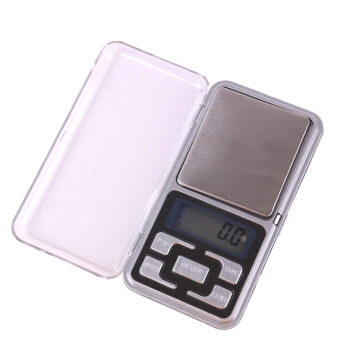 Mini 500g/0.1g Portable LCD Blue Back-Lit Pocket Digital WeighingScale Jewelry Diamond Weight Balance Tool