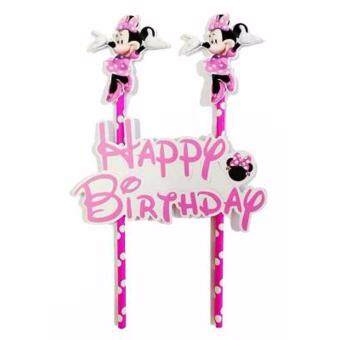 Minnie Mouse Paper Cake Topper
