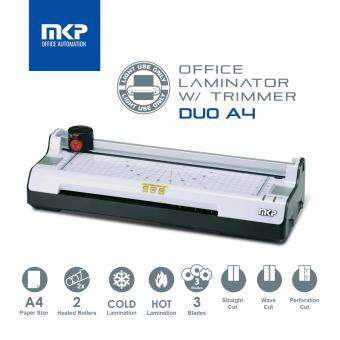 Harga MKP DUO-A4 A4 Laminate / Laminator / Laminating Machine withTrimmer (2 rollers)