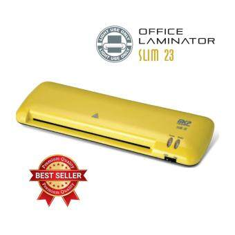 Harga MKP Slim-23 A4 Laminator Machine (With 2 Rollers) Yellow