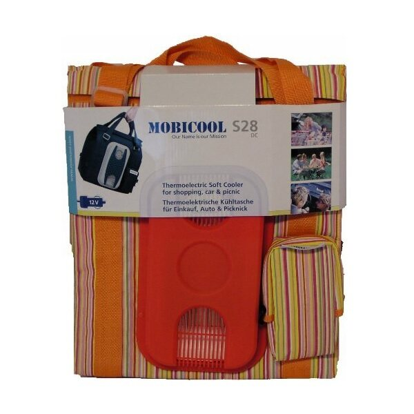 Mobicool S28 Thermoelectric Picnic Bag Orange 28litre