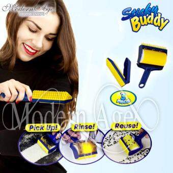 Harga Modern Age Reusable Sticky Buddy Carpet Clothes Lint Fur RemoverCleaner Roller