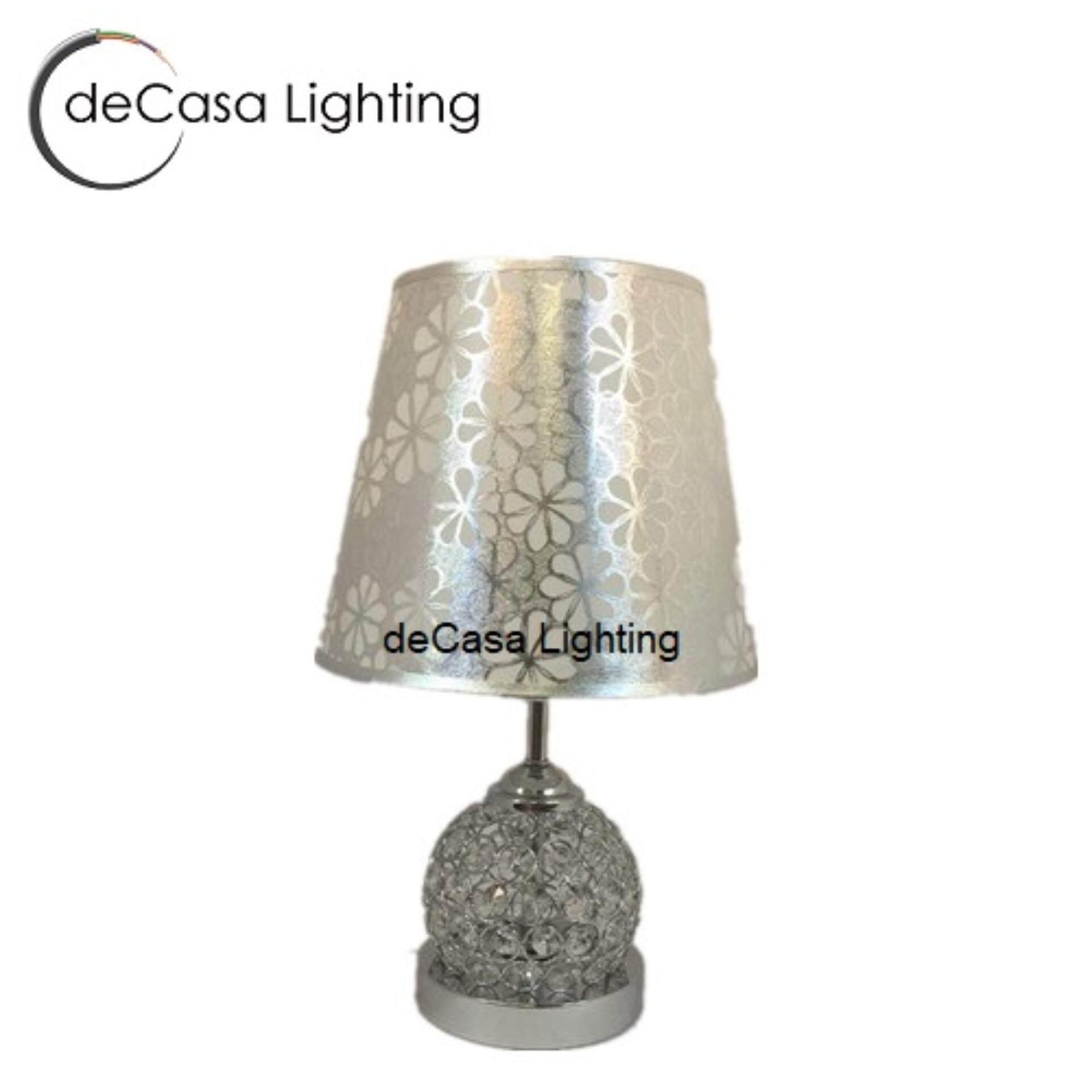 Modern Crystal Table Lamp Creative Dining Room Living Room Table Lamp DECASA MXBM