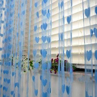 Moonar 200*100cm Heart String Curtain Home Window Door Decoration