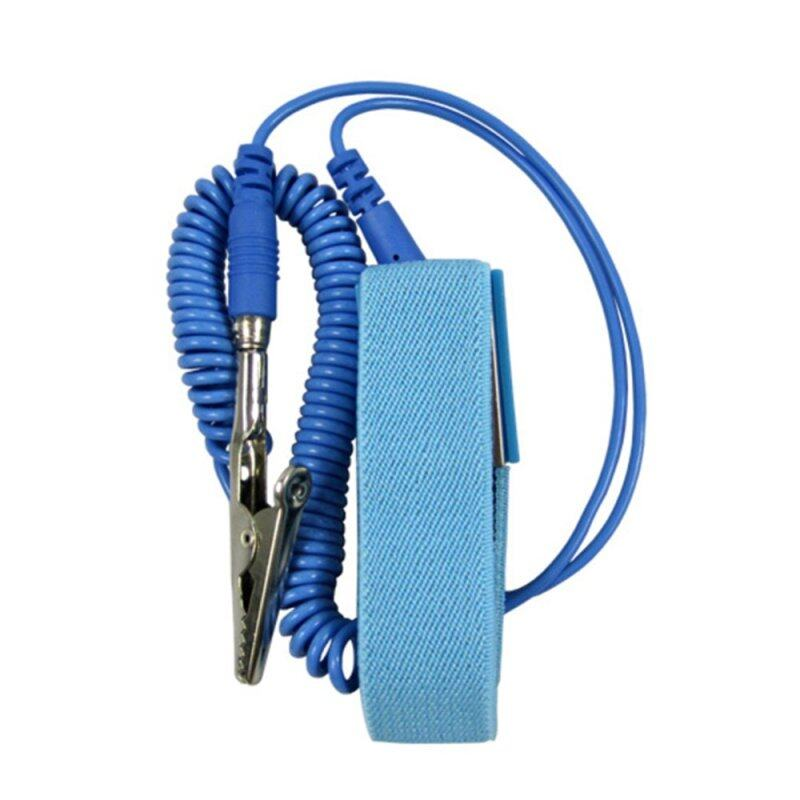 Moonar Wired Clip Antistatic Anti Static ESD Wristband Wrist Strap Discharge Cables for Electrician IC PLCC worker