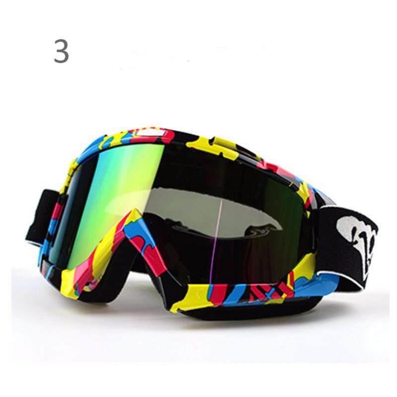 Buy Motorcycle Bicycle ATV Dirt Bike Off-Road Racing Anti-Wind Goggles Glasses Anti-UV Dust Malaysia