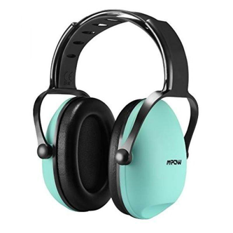 Mpow Kids Safety Noise Reduction Ear muffs, Adjustable and Soft Headband Safety Ear Muffs for Shooting Hunting, Ear Defenders for Children, Infants, Small Adults with Twist Resistant Handband