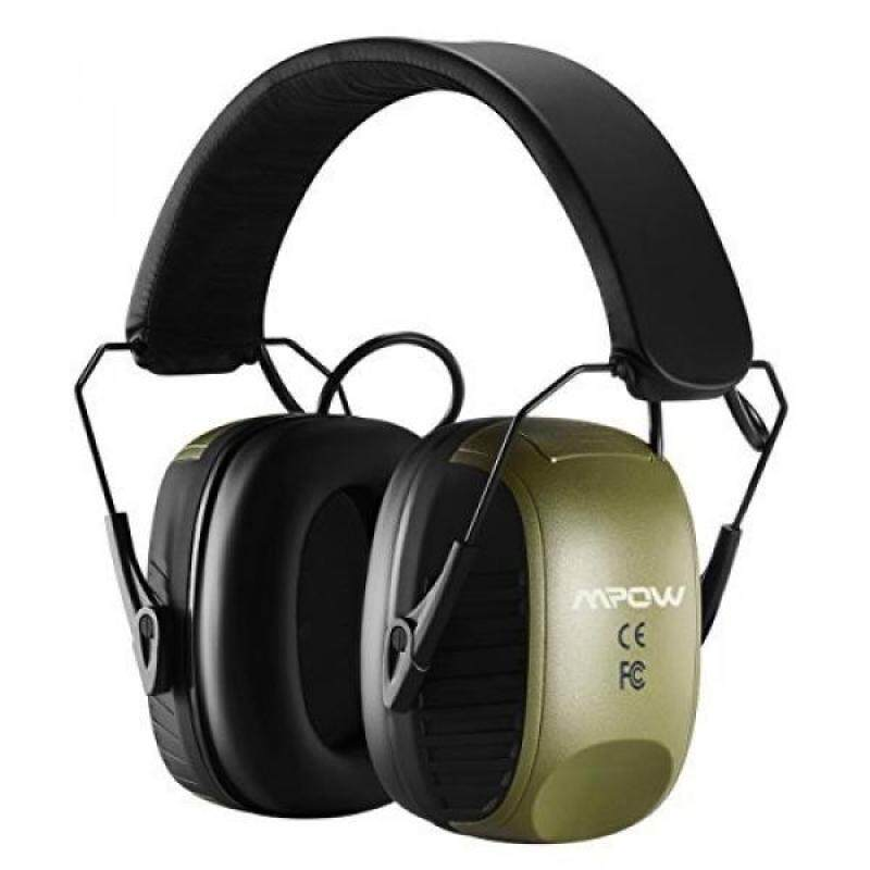 Buy Mpow Noise Reduction Electronic Safety Ear Muffs, NRR 27dB Professional Safety Hearing Protector, Ideal for Shooting, Hunting, with a Carrying case Malaysia