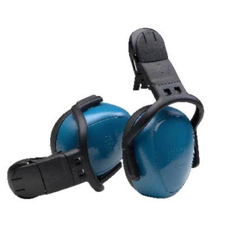 Buy MSA Safety 10087429 Left/Right Passive Cap-Mounted Earmuff, Medium, 25 dBA NRR, Blue Malaysia