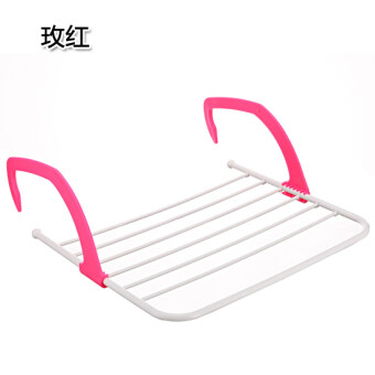 Harga Multi-function can be folding balcony drying shoes rack windowsill diapers drying racks bathroom towel heating piece drying rack