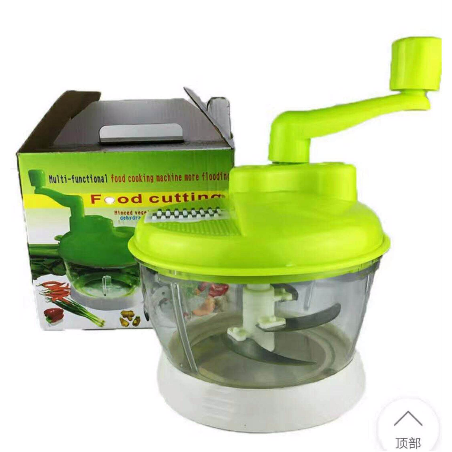 (Hot Sales)Big Swift Chopper Manual Food Processor Food Chopper Salad Spinner