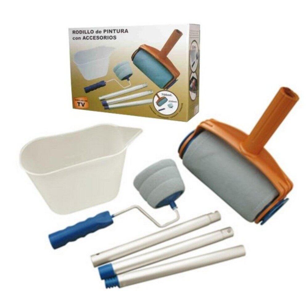 Multi-function Handle Paint Roller Set Painting Brush