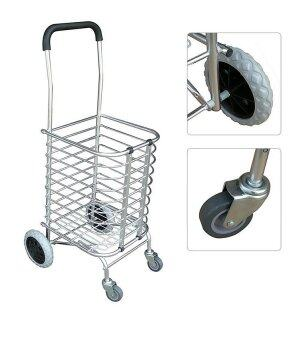 Multi Functional Foldable Shopping Trolley | Lazada Malaysia