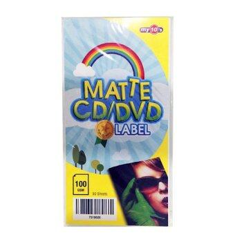 Harga my10's Matte CD/DVD Label Paper