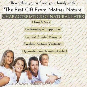 MYLATEX Natural Latex Bolster HB709 - 4