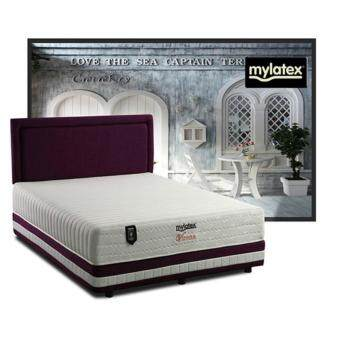 Harga MyLatex Vienna 10 Inches Semi-Firm 100% Natural Latex Chiropractic Spring Mattress (10 Years Warranty) Pre Order 1 Week