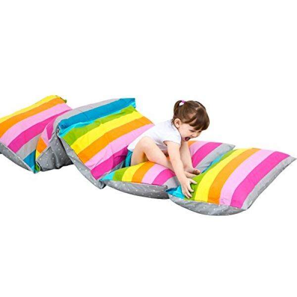 Nancyus005 Baby Floor Pillow Case and Lounger Seats Cushion Bean Bag Chair Cover - intl