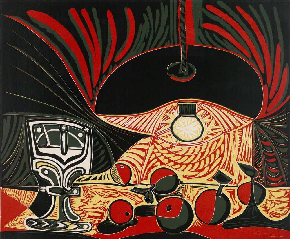 Nature Morte au verre sous la lampe by Pablo Picasso | Lazada Malaysia