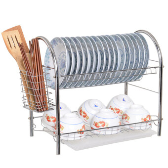 Harga NaVa High Quality Stainless Steel U Shape Dish Rack
