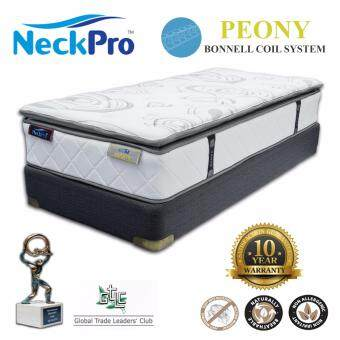 "Harga NeckPro 12"" Single Bonnell Spring Mattress (Peony)"