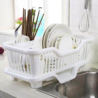 New Fashion Great Kitchen Sink Dish Drainer Drying Rack Washing Holder Basket Organizer Tray [NF]