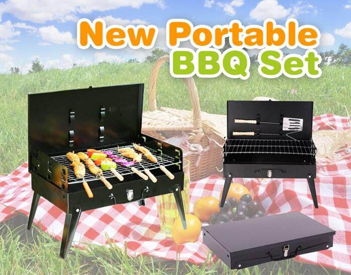 New Portable BBQ Set